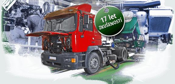 Opravy aservis nákladních aut Malina Vrše