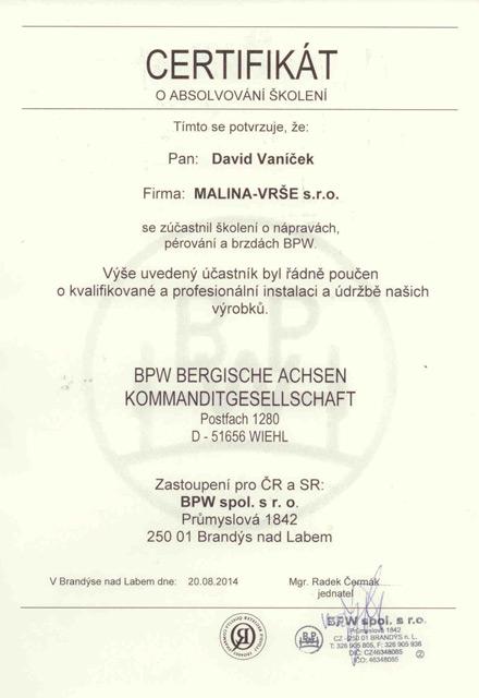 David Vaníček BPW