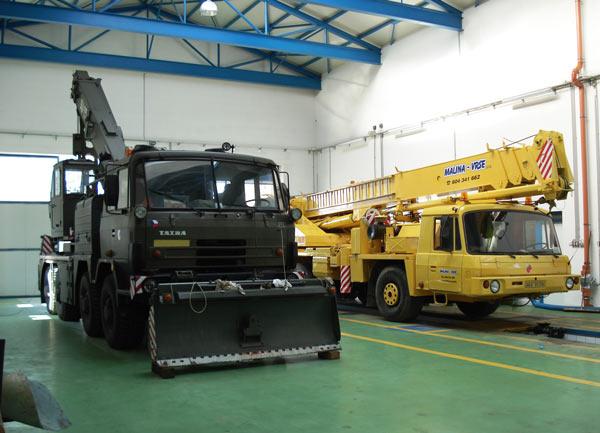 Servis a opravy hydraulických soustav