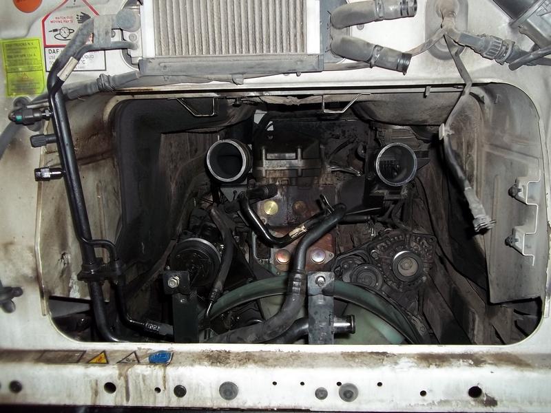 Generální oprava motoru DAF