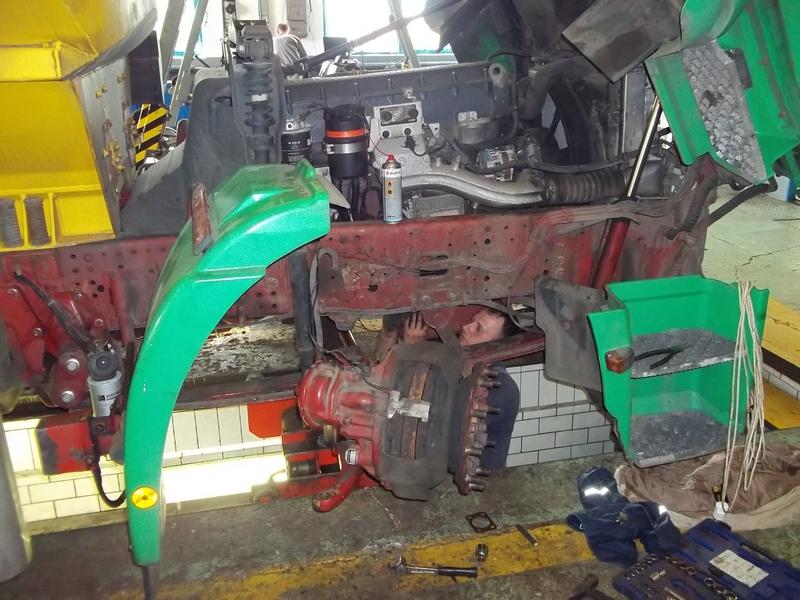 Oprava spodní části vozidla