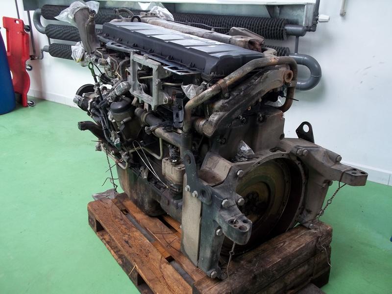 Generální oprava motoru MAN TGA