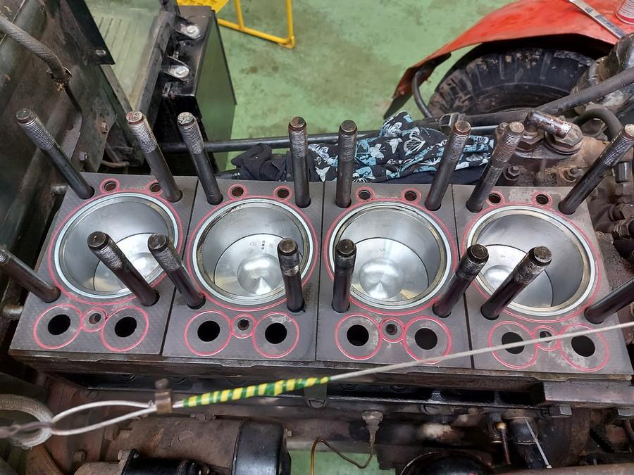 Oprava motoru Zetor