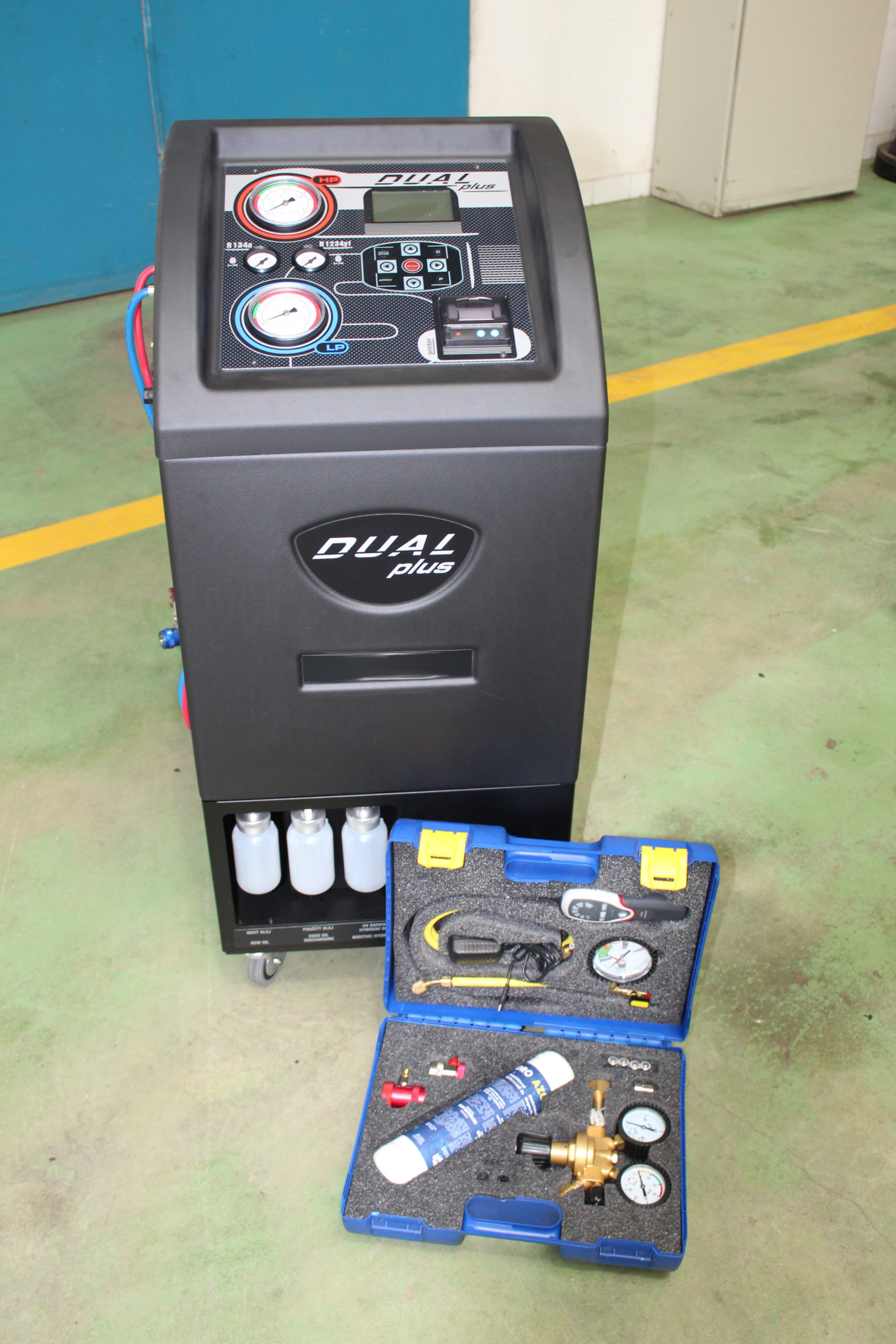 Dual plus plnička klimatizace