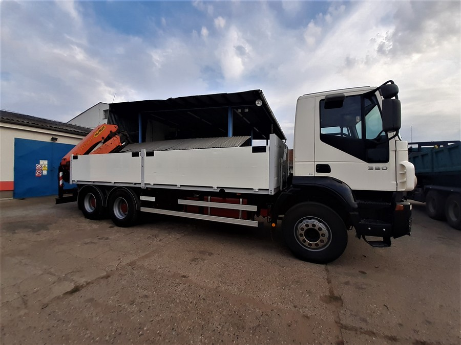 Oprava podvozku IVECO Trakker